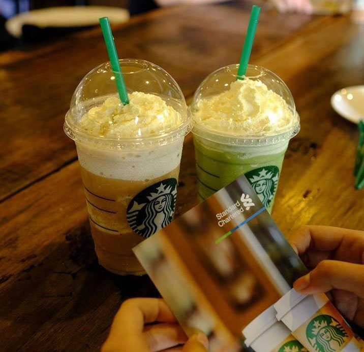 Starbucks khuyến mại mua 1 tặng 1
