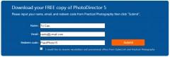 Nhanh Tay Nhận Miễn Phí Bản Quyền PhotoDirector 5 (Giá $49,99)