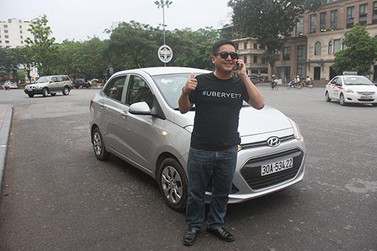 Taxi Uber giá rẻ nhất - UberX