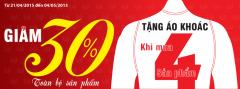 Mừng lễ lớn thời trang M.A.C giảm giá 30%toàn bộ sản phẩm
