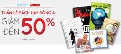 Công Ty Phát Hành Sách Đông A Giảm Tới 50% Sản Phẩm Tại TiKi