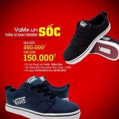 Giày Vans giảm giá chỉ còn 150k tại Yame chi nhánh Biên Hòa