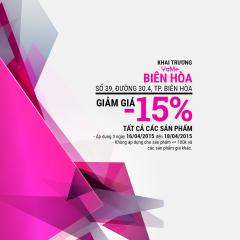 Mừng khai trương YaMe giảm giá 15% tất cả sản phẩm