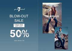 Thời Trang Jean Cao Cấp 7 For All Mankind Sale Khủng 50%