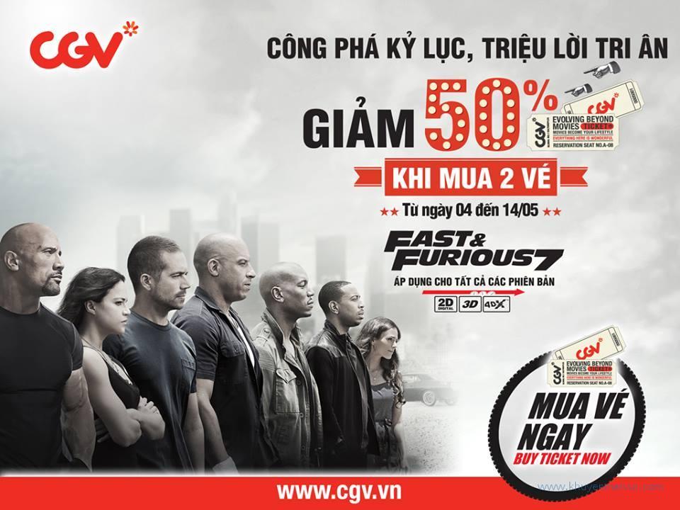CGV tri ân khách hàng trên toàn quốc
