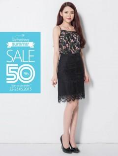 IVY moda hạ nhiệt mùa hè giảm giá 30-50% tất cả sản phẩm