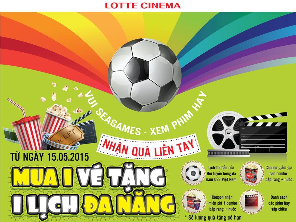 Lotte Cinema đồng hành cùng seagame 28