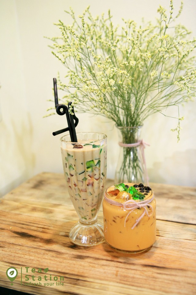 Tea Station - Trà sữa Tokyo khai trai trương mua 1 tặng 3