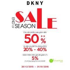 Thời trang DKNY khuyến mãi cuối mùa – giảm giá đến 50%++
