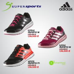 Supersports khuyến mãi giảm giá đến 30% giày Adidas Duramo