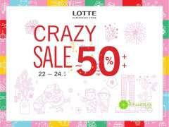Lotte Department Store khuyến mãi Big Sale giảm giá đến 50% mừng Tết 2016