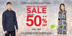 French Connection tiếp tục giảm tới 50% hàng ngàn sản phẩm mừng Tết