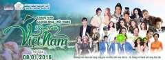 """Tham gia show ca nhạc """"Xinh tươi Việt Nam"""" với nhiều khách mời nổi tiếng"""