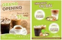 [TPHCM] Passio Coffee Tôn Đức Thắng khai trương với nhiều ưu đãi hấp dẫn