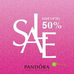 PANDORA khuyến mãi giảm giá 50% một số sản phẩm trên toàn hệ thống