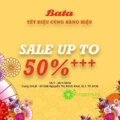 [TPHCM] BATA Nguyễn Thị Minh Khai khuyến mãi giảm giá 50%++