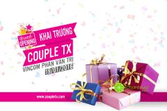 [TPHCM] Couple TX Vincom Phan Văn Trị tặng quà khủng mừng khai trương