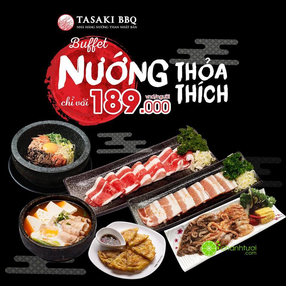 tasaki-bbq-khuyen-mai-buffet-nuong-lau-chi-tu-189k-gia-goc-229k