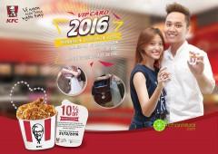 KFC làm thẻ VIP card 2016 mới với nhiều ưu đãi hấp dẫn không thể bỏ qua