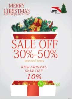 Thời trang ANTA giảm giá 30-50% nhân dịp năm mới 2016