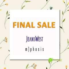 [TPHCM] Jeanswest Nguyễn Văn Cừ giảm giá 50-80% tất cả sản phẩm