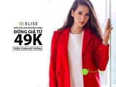 Elise khuyến mãi đồng giá tất cả sản phẩm chỉ từ 49k mừng Tết Nguyên Đán