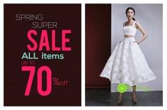 Spring super sale up to 70% off từ thương hiệu B.store