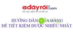 Hướng dẫn, cách mua hàng trên Adayroi