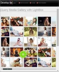 [Miễn Phí] jQuery Grid Gallery Online Portfolio