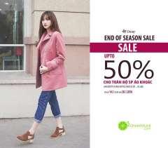 """END OF SEASON SALE chiết khấu lên đến """" 50%"""" từ Thời trang Daisy"""
