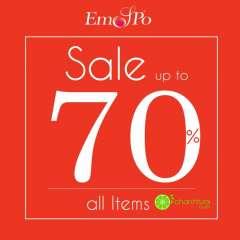 Thời trang EMSPO giảm sốc 50% - 70% toàn hệ thống chào đón năm mới