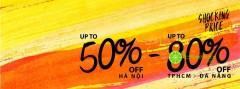 Shocking price up to 80% xuyên suốt tháng 1 tại GOSTO