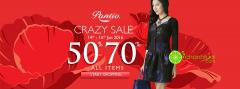3 days crazy sale 50%  -70% toàn bộ sản phẩm từ thương hiệu Pantio