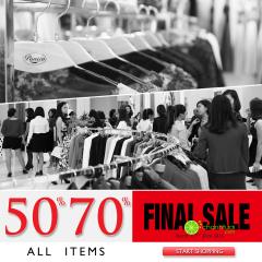 Tiếp tục chương trình Big sale 50% - 70% từ Pantio