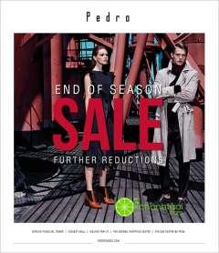 PEDRO khuyến mãi cuối mùa – giảm giá thêm nhiều sản phẩm