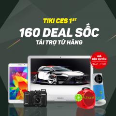 Tuần Lễ Công Nghệ Tiki CES 160 deal giá tốt+ xả kho giảm 80%