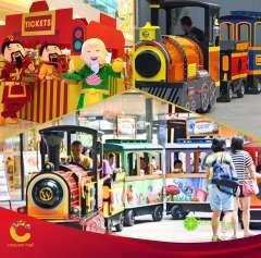 Tham quan Crescent Mall trên Đoàn tàu vui nhộn- giảm tới 40% giá vé