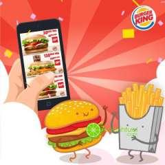 Burger King ưu đãi tặng coupon lớn mừng ngày tình bạn
