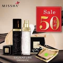 Missha SALE 50% bộ trang điểm nền cao cấp Missha Signature Dramatic