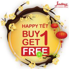 Jadiny – khuyến mãi mua 1 tặng 1 mừng Tết Nguyên Đán