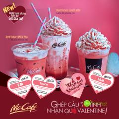 MCDONALD'S khuyến mãi Valentine 2016 – tặng Red Velvet Valentine