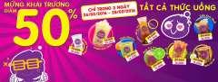 Hot & Cold Đà Nẵng khuyến mãi khai trương – giảm giá 50% tất cả thức uống