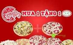 [HÀ NỘI] Nhà hàng Pepperonis khuyến mãi mua 1 tặng 1 Pizza
