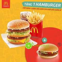 McDonald's khuyến mãi tặng Burger cho phần ăn EVM