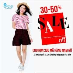 Thời trang Sea Collection giảm giá 30-50% đón tháng 3