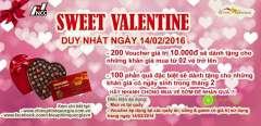 [Sweet Valentine] Rạp chiếu phim quốc gia tặng 200 voucher giá trị 10.000đ miễn phí