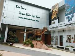 [Hà Nội] Bảo tàng Thiên Nhiên Việt Nam mở cửa miễn phí