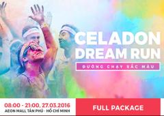 Giảm giá 50% vé tham dự đường chạy sắc màu Celadon DreamRun