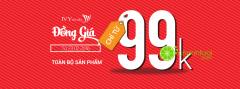 Ưu đãi Final sale - đồng giá chỉ từ 99k từ thời trang IVY moda