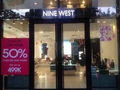 Nine West chuyển cửa hàng- giảm 50% toàn bộ sản phẩm